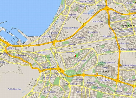 cape town central map
